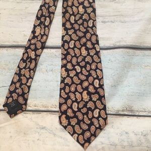 NWT Brooks Brothers Makers Paisley Silk Neck Tie
